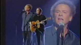 Paul Simon & Art Garfunkel The Sound Of Silence Live