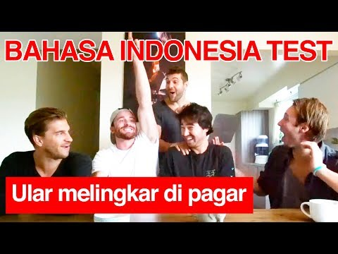 Canadian Take Indonesian Language Test! (PART 2)
