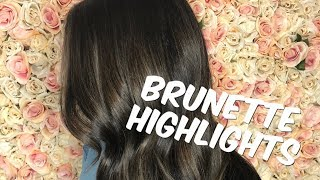 HOW TO HIGHLIGHT DARK HAIR