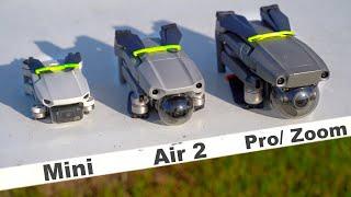 Welche Drohne Kaufen? Mavic Air 2, Mini, Pro oder Zoom? (Vergleich/ DJI Kaufberatung)