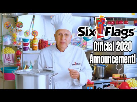 Six Flags 2020 OFFICIAL Announcement Video!