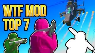 RAVENFIELD WTF MOD TOP 7 | MAYHEM GODMODE ANTI-GRAVITY | Ravenfield Gameplay Early Access