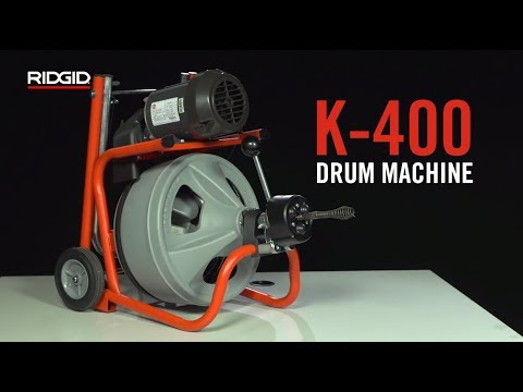 RIDGID K-400 Drum Machine
