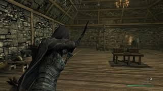Skyrim Special Edition Mod Review Off-Shoulder Third Person Combat Cam