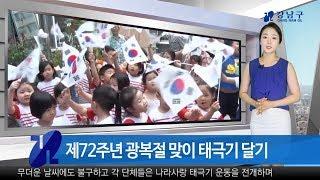 [강남구종합뉴스]2017년8월둘째주 썸네일 이미지