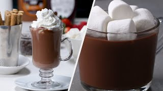 Gourmet Hot Chocolate Recipes To Warm You Up •Tasty