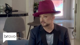 RHOBH: Boy George Learns About the New 'Wife (Season 8, Episode 22) | Bravo