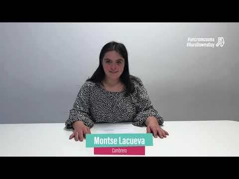 Ver vídeoNomés ens diferencia #uncromosoma de més. Montse