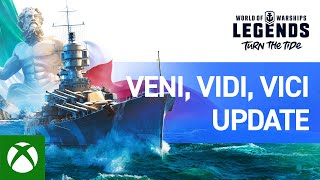 World of Warships: Legends - Veni, Vidi, Vici Update Overview