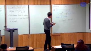 These videos are taken from a lecture course on Modern Physics I taught at the Catholic University of Korea in Spring 2016.In this class we use the combined effects of length contraction, time dilation and relative simultaneity calculated in the previous video to derive a new coordinate transformation (of space and time) between inertial observers. This is known as the Lorentz transformation (which as far as we can tell is exact) and replaces the Galilean transformation (which is a good approximation only at speeds much less than the speed of light).