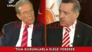 Recep Tayyip Erdoğan-Yargının içine sıçmış