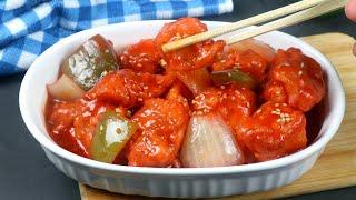 Restaurant Style Chicken Manchurian