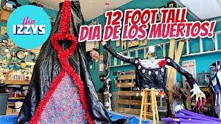 Converting a 12 Foot Home Depot Skeleton INTO DIA DE LOS MUERTOS