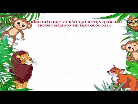 HĐ kể chuyện: Cáo - Thỏ và Gà trống. Khối 4 tuổi. Trường MN Thị Trấn Quốc Oai A