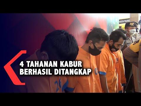 tahanan narkoba yang kabur berhasil ditangkap