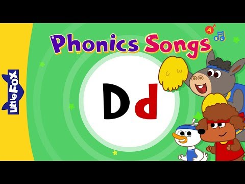 Identify the letter D- The alphabet