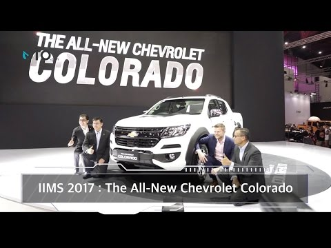 IIMS 2017 : The All New Chevrolet Colorado I OTO.com