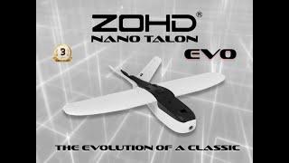 ZOHD Nano Talon EVO 860mm AIO V Tail EPP FPV Wing da Banggood