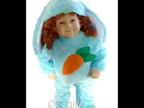 F78 Baby Hase Blau Kind Kostüm Karnevalskostüm Fasching Kostüme Karneval Tierkostüm Hasenkostüm