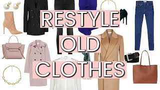 ELEGANTLY Styling Clothes You Already OWN | Fashion Over 40