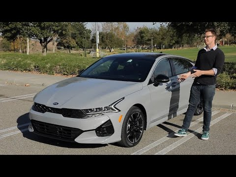 2021 Kia K5 Test Drive Video Review