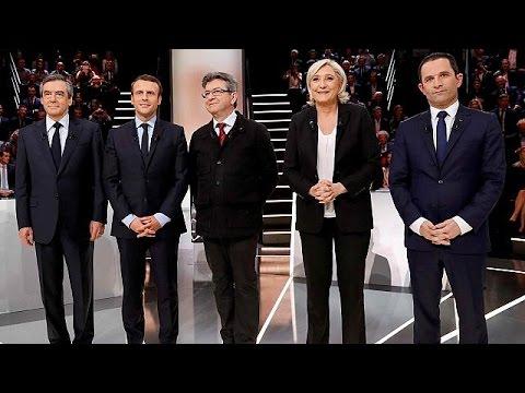 Γαλλία: Σε υψηλούς τόνους το πρώτο ντιμπέιτ με τους 5 επικρατέστερους υποψήφιους προέδρους
