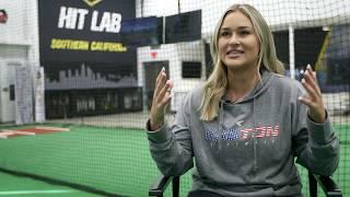NCAA Home Run Leader Lauren Chamberlain joins Easton