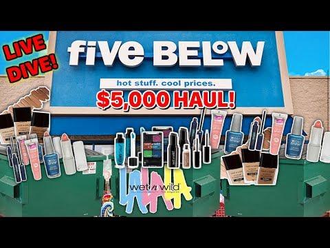$5,OOO FIVE BELOW