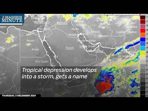 Tropical depression develops into a storm, gets a name