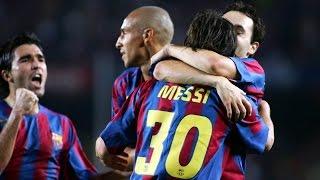 Highlights FC Barcelona v Juventus (2-2, Gamper Trophy 2005)