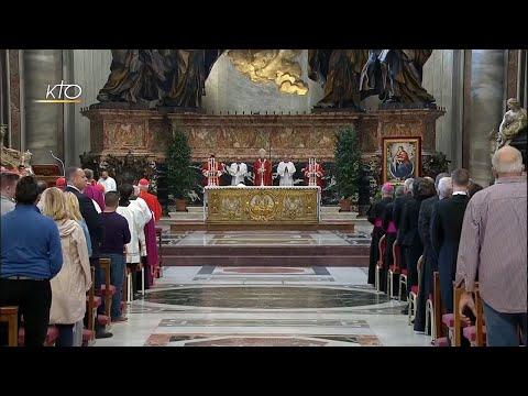 Messe de suffrage aux cardinaux et évêques défunts