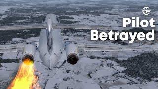 Pilot Betrayed | Terrifying Moments as Both Engines Failed After Takeoff | SAS Flight 751 | 4K