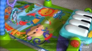 Rainforest Piano Gym von Fisher Price Produkttest Babyspielzeug (P)