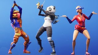 Fortnite All Dances Season 1-5 Updated to LLAMA BELL