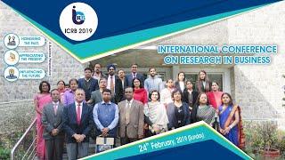 ICRB   2019 Valedictory Plenary