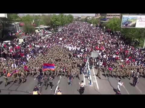 Armenia PM Sargsyan Resigns in Face of Protests