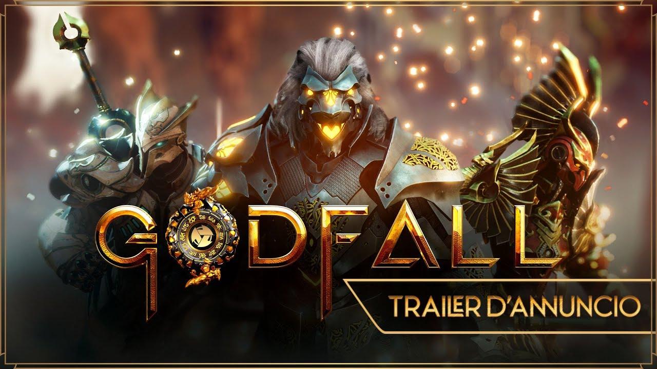 È stato annunciato Godfall per PlayStation 5, l'araldo dei looter-slasher di nuova generazione