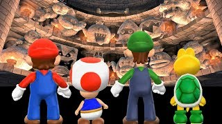 Mario Party 9 - All Boss Battles - Boss Rush