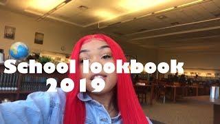 I Slayed All Week ( School Look Book )