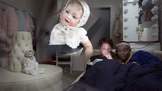 24 hour overnight challenge with POSSESSED DOLL....