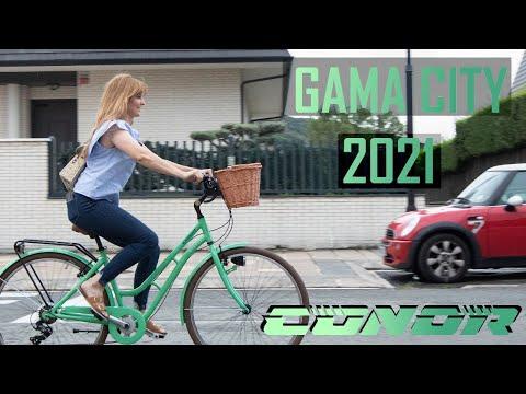 Gama bicicletas de ciudad Conor 2021