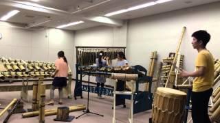 BambooMusicPeformance東京楽竹団そらたけ/島唄_TheBOOM
