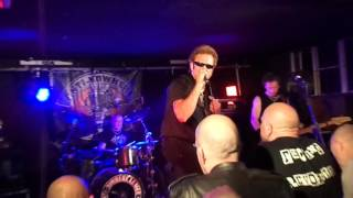 Anti-Nowhere League - Wreck 'A' Nowhere, The Hairy Dog, Derby, 24th April 2015