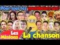 Les Minions - La chanson Pour tous les Youtubeurs(ses)