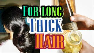 How to grow hair FASTER and LONGER | See results in a WEEK!