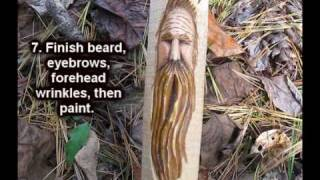 Carving A Simple Woodspirit Face Quick Review Of The Video