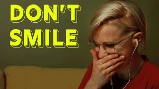 Try Not To Smile Challenge    Hannah Hart - Video Youtube