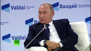 «Боятся конкуренции»: Путин о давлении на телеканал RT в США и во Франции