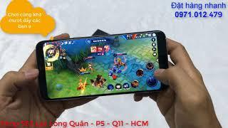 Samsung s8 plus loại 1 chơi game liên quân mobile