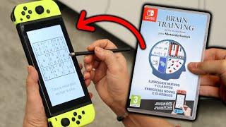 Mi Madre Esta JUGANDO Al NUEVO BRAIN TRAINING Para Nintendo SWITCH 🤣 ¿Vale La Pena?